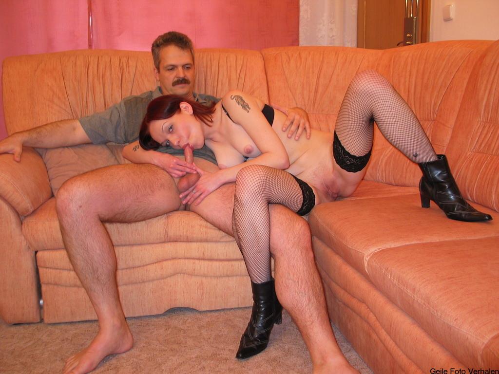 vader neukt vriendin van zoon spuitsex