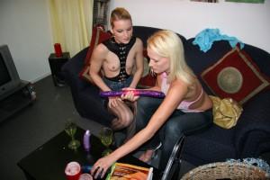 Fantasie met twee vrouwen